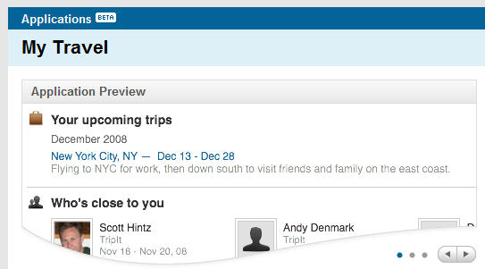 More functionality rolled out from LinkedIn Apps Direcdtory