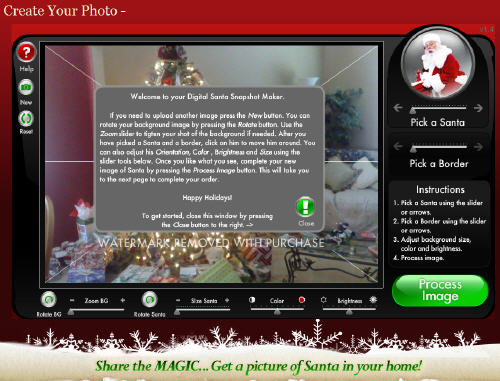 Catch Santa In The Act in your house via I Caught Santa!