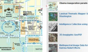 Obama Presidential Inauguration Parade Route