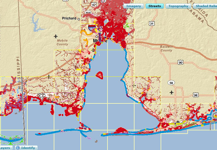 More GIS tips, WMS, maps, data, apps related to the Gulf of Mexico ...